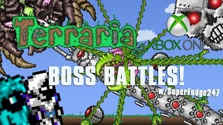 getlinkyoutube.com-Terraria Xbox One Let's Play -  BOSS BATTLES! w/SuperFudge247  [32]