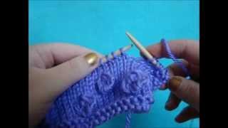 getlinkyoutube.com-Knitting How To: Making Bobbles