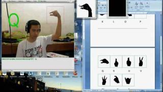 getlinkyoutube.com-ASL Finger spelling recognition using C# OpenCV wrapper