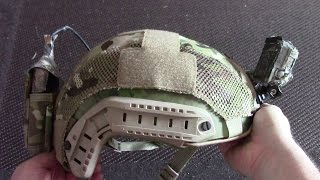 Emerson Fast Helmet Cover Review Airsoftpeak.com
