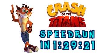 getlinkyoutube.com-Crash of the Titans Speedrun in 1:29:21