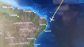 getlinkyoutube.com-[Trip Report] Stuttgart - Recife (2014) | STR - FRA - REC - FOR - FRA