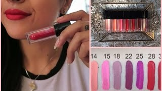 getlinkyoutube.com-eBay $1 Waterproof Matte Liquid Lipsticks