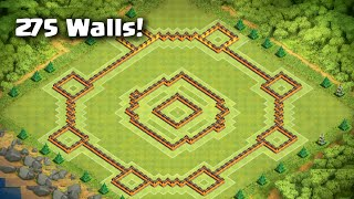 getlinkyoutube.com-Clash of Clans - AMAZING Town Hall 10 Trophy/War Base - 275 Walls | Anti-Earthquake | Anti-AQ Core