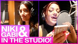Niki And Gabi RECORD Fight Song Cover!
