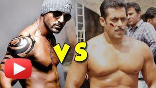 getlinkyoutube.com-OMG! Salman Khan PUNCHES John Abraham ! | GAMA Pehelwan Biopic