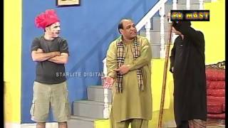 getlinkyoutube.com-Best Of Agha Majid and Amanat Chan New Stage Drama Comedy Clip