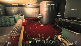 getlinkyoutube.com-Rainbow Six Siege PS4 Bank Hostage Situation Gameplay