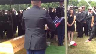 getlinkyoutube.com-Military Funeral Honors for 2nd Lt. Vilath Nhotsoubanh, July 5, 2014