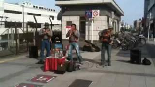 getlinkyoutube.com-コンドルは飛んでいく (El Cóndor Pasa) 名古屋 金山駅 路上ライブ