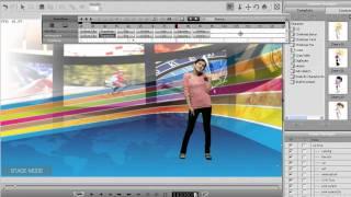 CrazyTalk Animator Tutorial - Montage Scene Animation