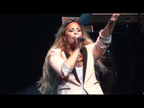 "Demi Lovato - ""Give Your Heart a Break"" and ""Unbroken"" (Live in Del Mar 6-12-12)"
