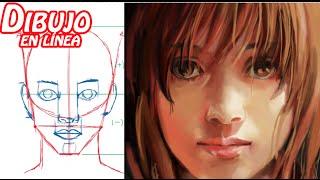 getlinkyoutube.com-dibuja el rostro de la mujer (adolescente) explicado