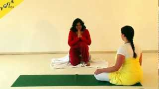 getlinkyoutube.com-Small Yoga Practice for Women Healthy Hormones - Satyananda Style