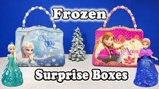 getlinkyoutube.com-FROZEN Disney Elsa + Anna Frozen Funny Huge Surprise Boxes Frozen Surprise Toys  Video