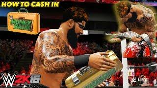 getlinkyoutube.com-WWE 2K16 My Career Mode - HOW TO CASH IN MONEY IN THE BANK IN MY CAREER MODE [PS4/XBOX ONE/NEXTGEN]