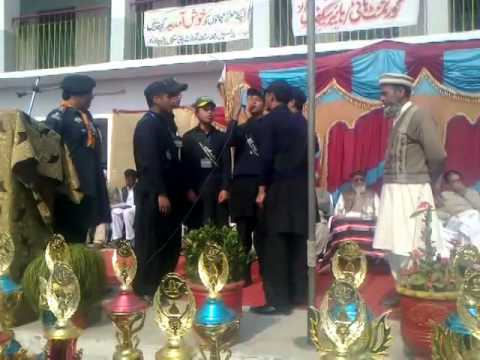 Govt High School Babarra Annual Awards Ceremony 2014 (Milli Naghma 2)