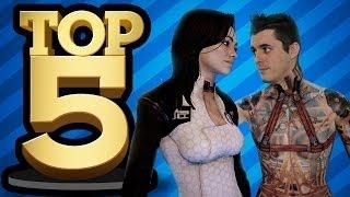 TOP 5 SEX SCENES IN GAMES