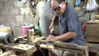 getlinkyoutube.com-วิธีกลึงลูกปัดไม้