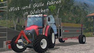 getlinkyoutube.com-[Ls15]Mist und Gülle fahren in Walchen| 1080P | 60FPS
