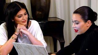 getlinkyoutube.com-Kim Kardashian Warns Kylie Jenner About Working With 'Perfectionist' Kanye West