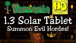getlinkyoutube.com-Terraria 1.3 Solar Tablet Summon Item! (1.3 new event eclipse)