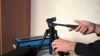getlinkyoutube.com-Velbon CX-Mini Stativ Unboxing + Review [HD] (DSRocker)