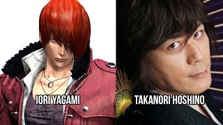 Characters and Voice Actors - The King of Fighters XIV