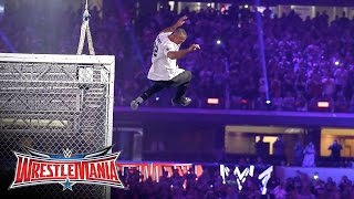 getlinkyoutube.com-Shane McMahon vs. The Undertaker - Hell in a Cell Match: WrestleMania 32 on WWE Network