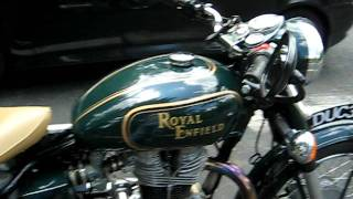 "getlinkyoutube.com-2004 Royal Enfield Bullet 500es Kickstart and Idle ""The Duchess"""