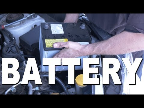 How to remove and replace a Battery - 2015 Subaru Forester