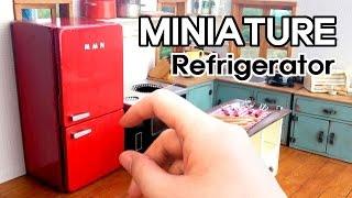 미니어쳐 냉장고 만들기#1 Miniature - Refrigerator #1