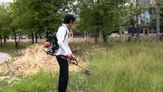 getlinkyoutube.com-เครื่องตัดหญ้าพลังงานแบตเตอรี่