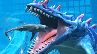 HAINOSAURUS  MAX LEVEL 40 - NEW VIP AQUATIC DINO Jurassic World The Game