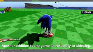 getlinkyoutube.com-Blender 3D Sonic Fangame: ENORMOUS UPDATE (Update 2) (NEW UPDATE IN DESCRIPTION)