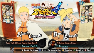 getlinkyoutube.com-ALL CHARACTERS & COSTUMES [DLC INCLUDED] | NARUTO SHIPPUDEN Ultimate Ninja STORM 4 ROAD TO BORUTO