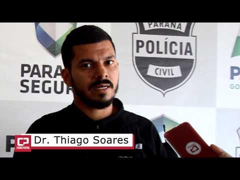Delegado Thiago Soares fala da operação - Hurricane realizada em Goioerê - Cidade Portal