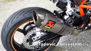 getlinkyoutube.com-exhaust sound comparison for Ktm Duke 690