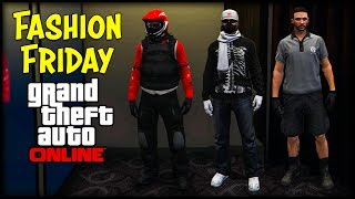 getlinkyoutube.com-GTA 5 Online FASHION FRIDAY + New Clothes Glitch! (Motorcycle Gear, Silent Hacker & The Mechanic)