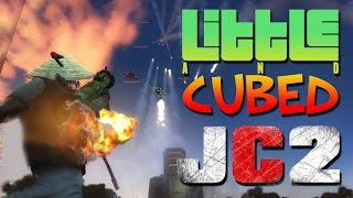 getlinkyoutube.com-Little And Cubed versus The World! - Just Cause 2