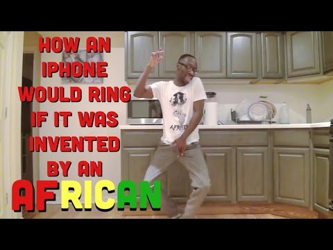 How An iPhone Would Ring If It Was Invented By An African @KappaCinco