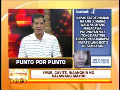 Punto por Punto: Imus, Cavite inaangkin ng 2 mayor