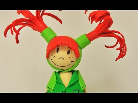Fofuchas - muñeca de goma eva (foamy doll) paso a paso-parte 1