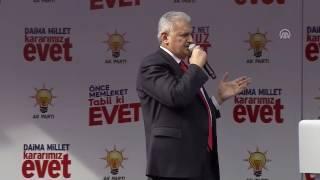 Başbakan Yıldırım: Anayasa değişikliği Erdoğan için değil, her doğan içindir