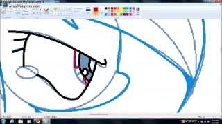 getlinkyoutube.com-Pinkamena and Rainbow Dash Speedpaint Part 1
