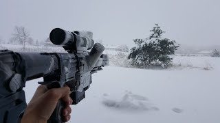getlinkyoutube.com-First Person Nerf War: Winter Sniper