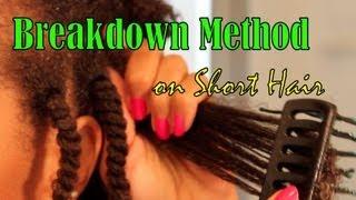 getlinkyoutube.com-Breakdown Method on Short Hair