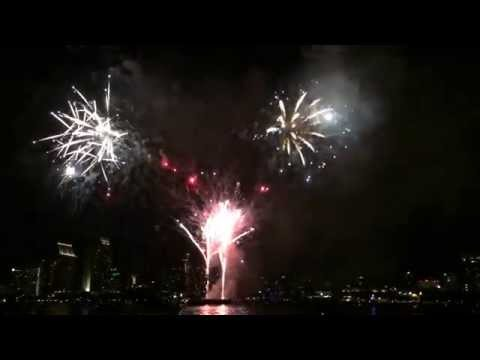 San Diego Big Bay Boom 4th Of July Fireworks 2014