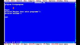 دورة تعلم لغة Pascal الدرس الاول || Didou Designer
