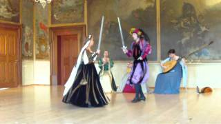 getlinkyoutube.com-Les Bouffons (Renaissance Dance)
